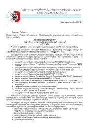 Warszawa, grudzień 2012 r. Szanowni Państwo, Stowarzyszenie ...
