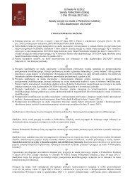 Uchwała Nr 6/2012 Senatu Politechniki Łódzkiej z dnia 30 maja ...