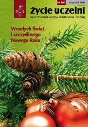 Wesołych Świąt i szczęśliwego Nowego Roku - Politechnika Łódzka ...