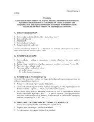ZAŁĄCZNIK nr 5 WZÓR WNIOSEK o przyznanie środków ...
