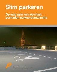 Slim parkeren – op weg naar een op maat gesneden ... - P1