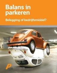 download P1 Dossier 10: Balans in parkeren