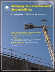 Managing Your Environmental Responsibilities: A Planning Guide for