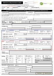 Print Requisition Form - P3.unsw.edu.au