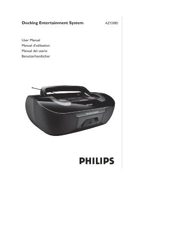 Docking Entertainment System - Philips
