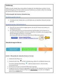Einführung: Aktualisierungsverfahren: - Philips