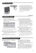 Les touches de la télécommande - Philips - Page 5