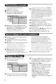 Les touches de la télécommande - Philips - Page 6