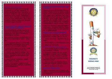 Sigara - Polis Akademisi