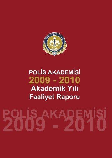 Akademik Yılı - Polis Akademisi