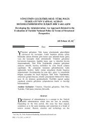 Sayfa 109: Yönetimin Geliştirilmesi - Polis Akademisi