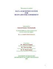 Santosh's Thesis - Physics and Astronomy - University of Kentucky