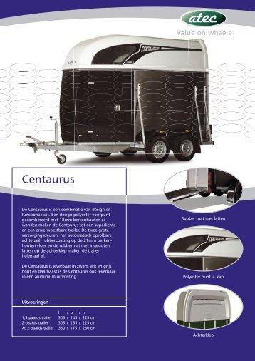Download hier de Atec Centaurus PDF folder. - Paardentrailer.nl