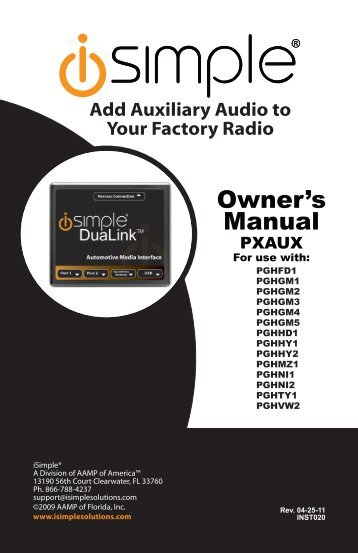 Owner's Manual - Abt