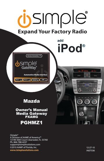 iPod® iPod® - Neo Car Audio