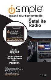 Satellite Radio - PAC Audio