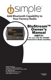 Add Bluetooth Capability To Your Factory Radio - PAC Audio