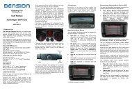 Gateway Pro User Manual Volkswagen BAP (V21) - PAC Audio