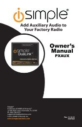 Add Auxiliary Audio To Your Factory Radio - Installer.com