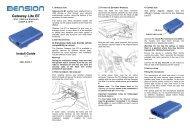 Gateway Lite BT (A2DP) Install Guide - Dension