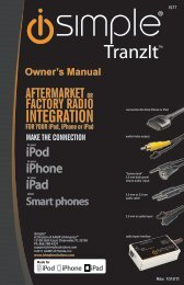 Please click here for the IS77 Instruction Manual - PAC Audio
