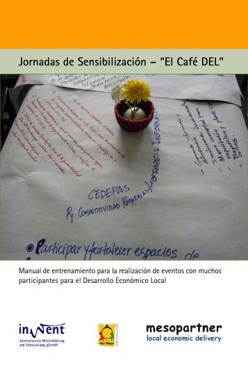 """Jornadas de Sensibilización – """"El Café DEL"""" - PACA"""