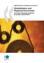 OECD Reviews of Regional Innovation Globalisation and ... - PACA