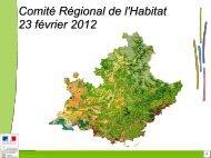 diaporama présenté au_CRH_23_février_2012 - DREAL Paca
