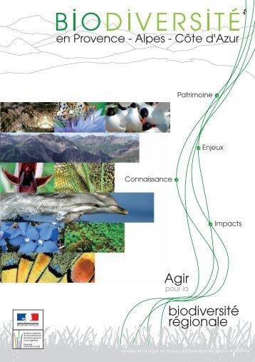 brochure sur la Biodiversité en Provence Alpes Côte ... - DREAL Paca