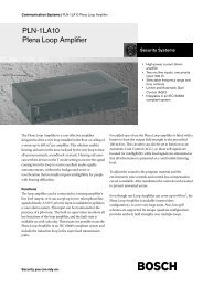 PLN-1LA10 Plena Loop Amplifier - Pacat.co.uk