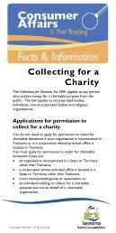 Collecting for a Charity
