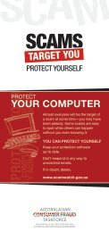 Scams target you: Protect your computer.pdf - SCAMwatch