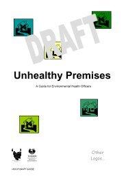 Unhealthy Premises - Consumer Affairs and Fair Trading