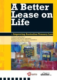 A Better Lease on Life - Tenants' Union of Qld