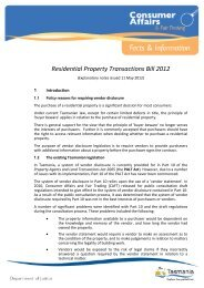 Residential Property Transactions Bill Explanatory Notes