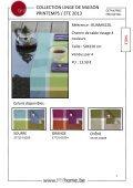 collection de linge de maison printemps / été 2013 - Meyhui - Page 5