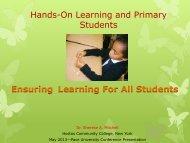 Presentation (PDF) - Pace University