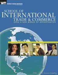 School of International Trade & Commerce - Pace University