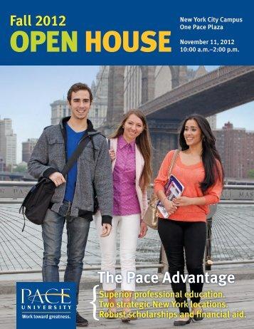 The Pace Advantage - Pace University