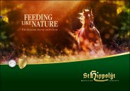 Feeding like nature