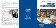 Health Care Management Program - Pace University