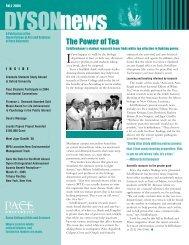 The Power of Tea: Schiffenbauer's student ... - Pace University