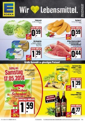 Werbung KW 20 Edeka Görlitz