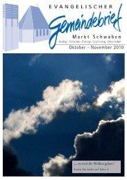 Oktober - Evangelisch-Lutherische Kirchengemeinde Markt Schwaben
