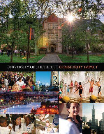 Community Impact Report - University of the Pacific