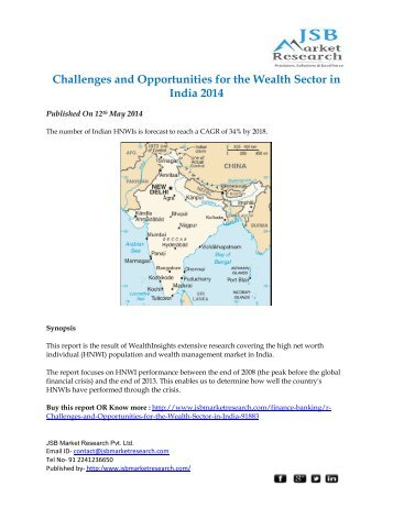 Challenges and Opportunities for the Wealth Sector in India 2014