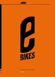 KTM e-Bikes - Donau Fritzi