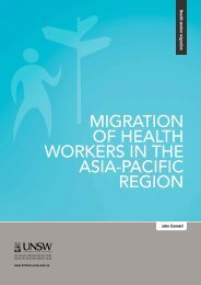 migration of health workers in the asia-pacific region - HRH ...