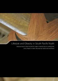 Lifestyle And Obesity In South Pacific Youth: Baseline Results From ...