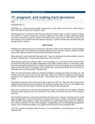 17, Pregnant, and making hard decisions.pdf - Pacific Health Voices